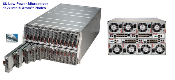 Supermicro 112 Node Microcloud CeBIT 2014