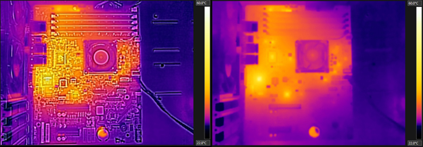 Supermicro A1SAM-2750F Thermal Imaging