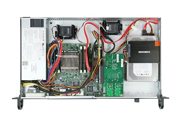 Supermicro SC505-203B Rangeley 10GbE SSD HDD Fans
