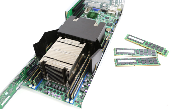 Supermicro SYS-6027TR-D71FRF CPU and Memory
