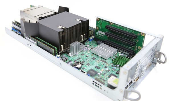 Supermicro SYS-6027TR-D71FRF Motherboard Tray