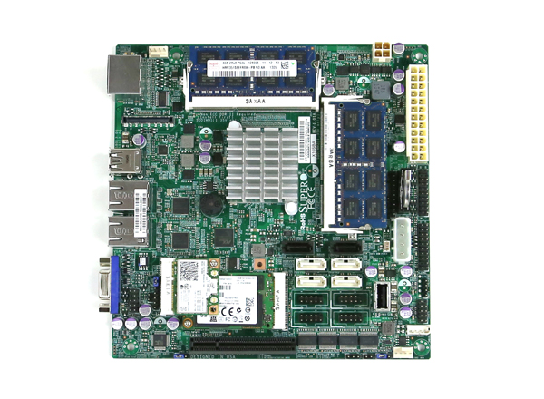 Supermicro X10SBA Overview with Components