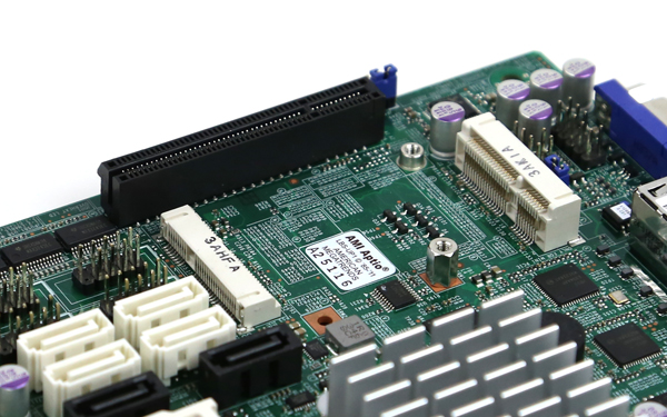 Supermicro X10SBA mSATA mPCIe and PCIe expansion