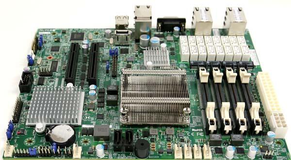 Supermicro X9SKV-1125 Airflow