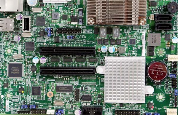 Supermicro X9SKV-1125 PCIe USB SATA