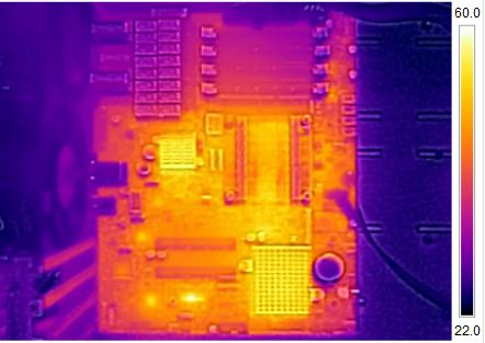 Supermicro X9SKV-1125 Thermal Imaging