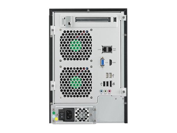 Thecus N7510 Rear