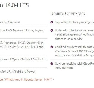 Ubuntu 14.04 Features