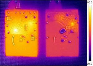 WD Red and RE 4TB Thermal Imaging
