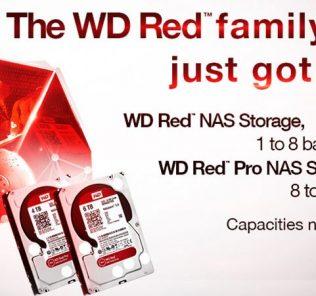 Western Digital Red 5TB 6TB Launch