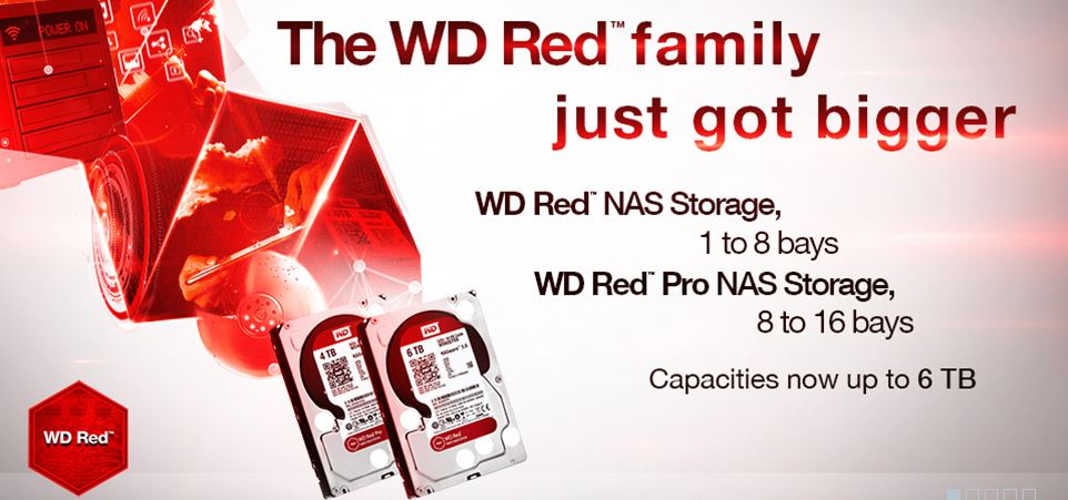 Western Digital Red 5TB 6TB Launch