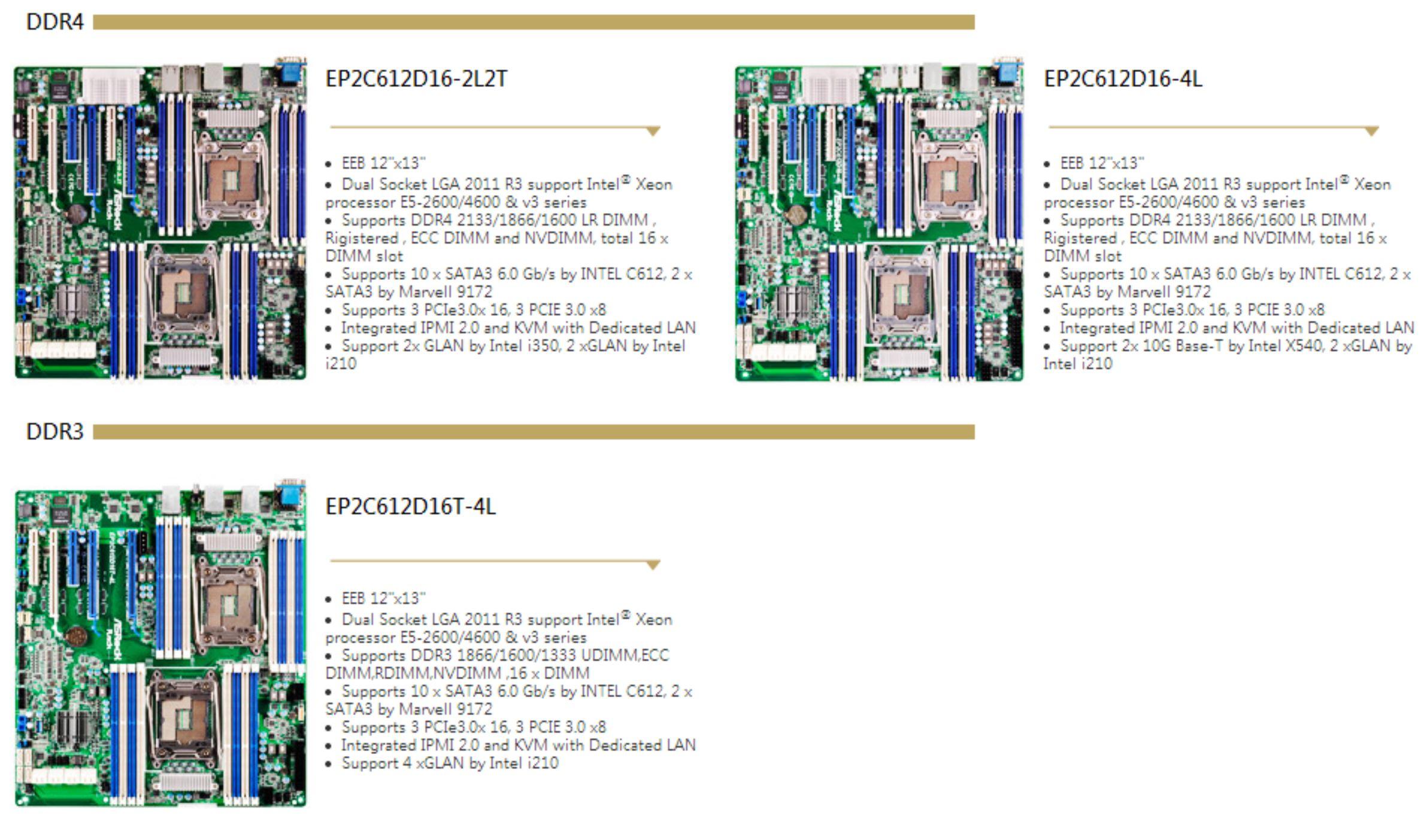 ASRock Rack Xeon E5-2600 V3 HPC
