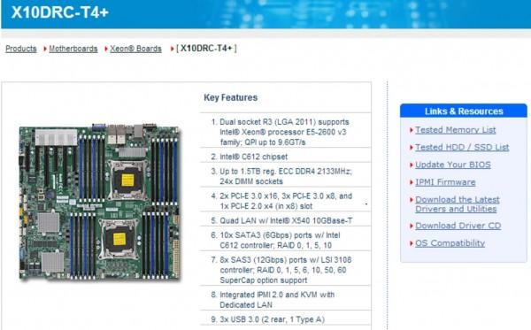 Supermicro x10 intel xeon e5 2600 v3 haswell ep Zfs raid calculator
