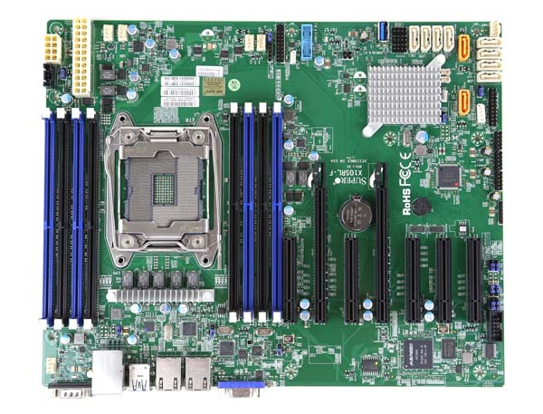 Supermicro X10SRL-F Overview