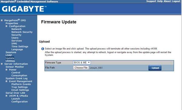 Quick Look Gigabyte Motherboard Feature - Web BIOS Update
