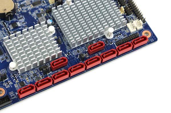 Gigabyte MD70-HB0 SATA Ports