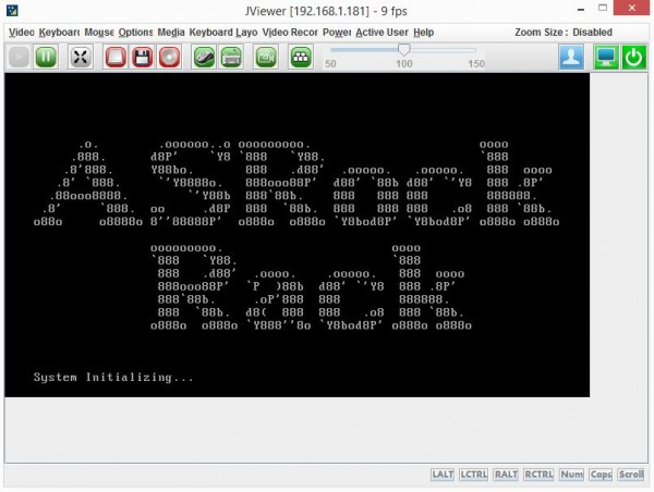 ASRock Rack IPMI POST Screen