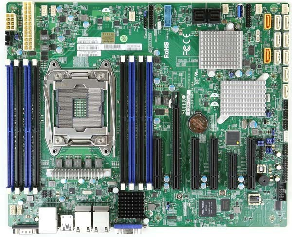Supermicro x10srh cln4f review sas3 hba and 4x lan Zfs raid calculator