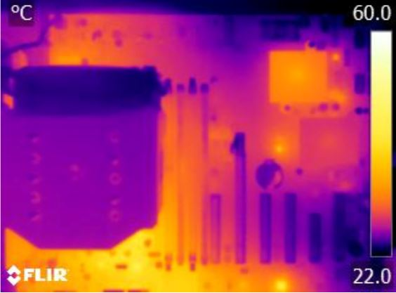 Supermicro X10SRH-CLN4F Thermal Imaging