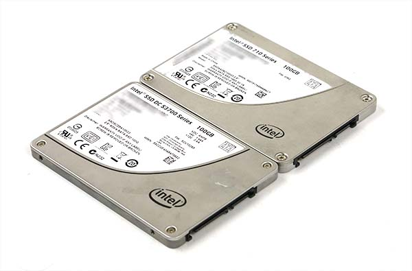 Intel S3700 and 710