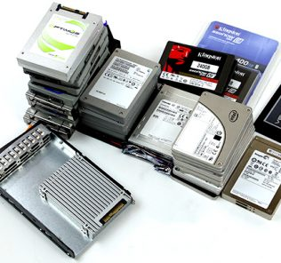 The 11TB+ SSDs sitting on the lab desk (not in systems) by mid-November 2014