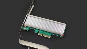 M2 PCIe x4 adapter with heatsink