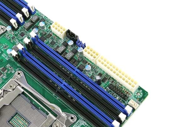 Supermicro X10DAi CPU and ATX Power