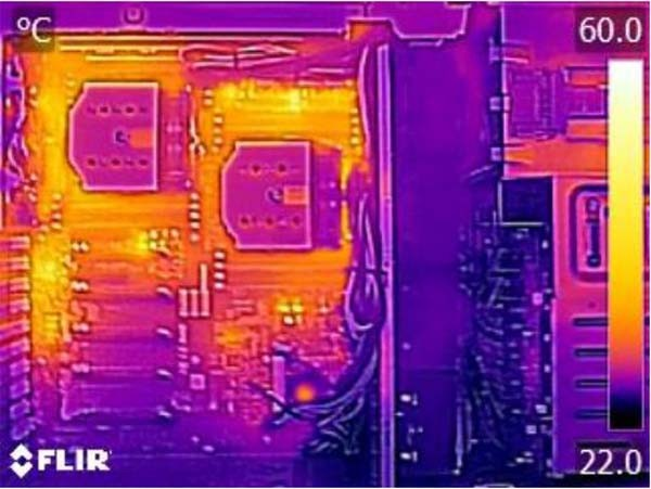 Supermicro X10DRG-Q Thermal Imaging