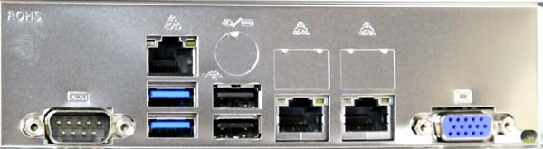 Supermicro X10DRG-Q rear IO