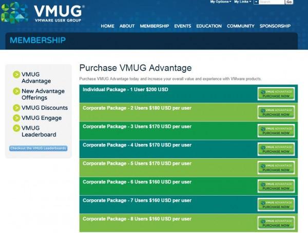 VMUG Advantage