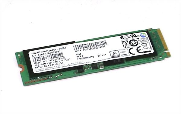 Samsung XP941 512GB Overview