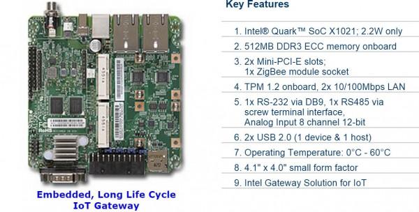 Supermicro Internet Of Things Gateway System W   Intel Quark