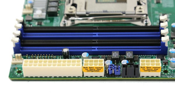 Supermicro X10DAC ATX and CPU Power