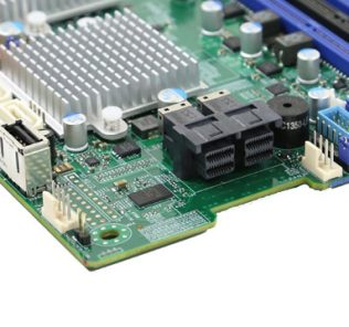 Supermicro X10DAC SFF-8643 SAS Ports