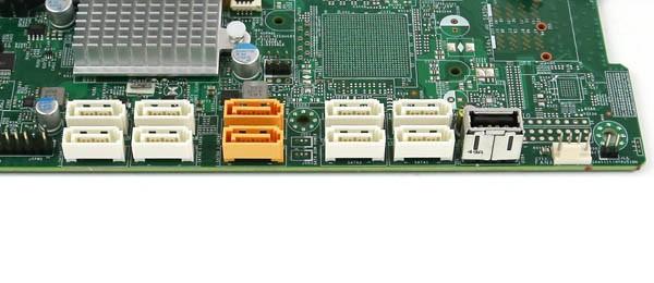Supermicro X10DAX SATA Ports