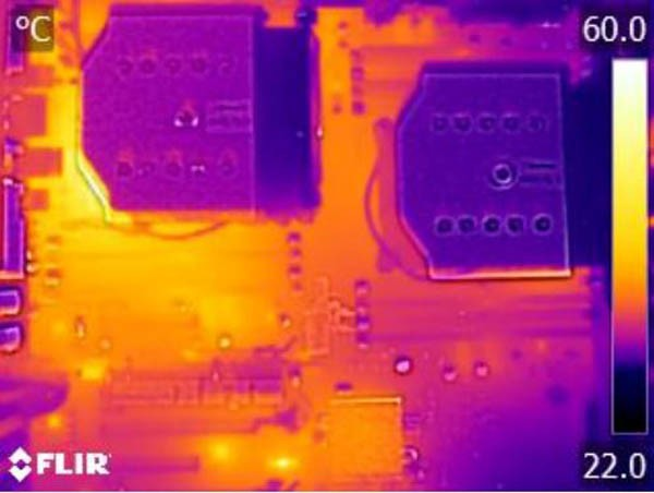 Supermicro X10DAX Thermal Imaging