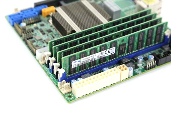 Supermicro X10SDV-F Pre Production with Samsung 16GBx4