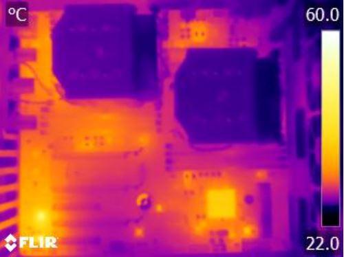 ASRock Rack EP2C612D16C-4L thermal imaging