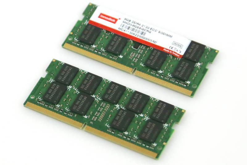 Innodisk 8GB DDR4 ECC SODIMMs