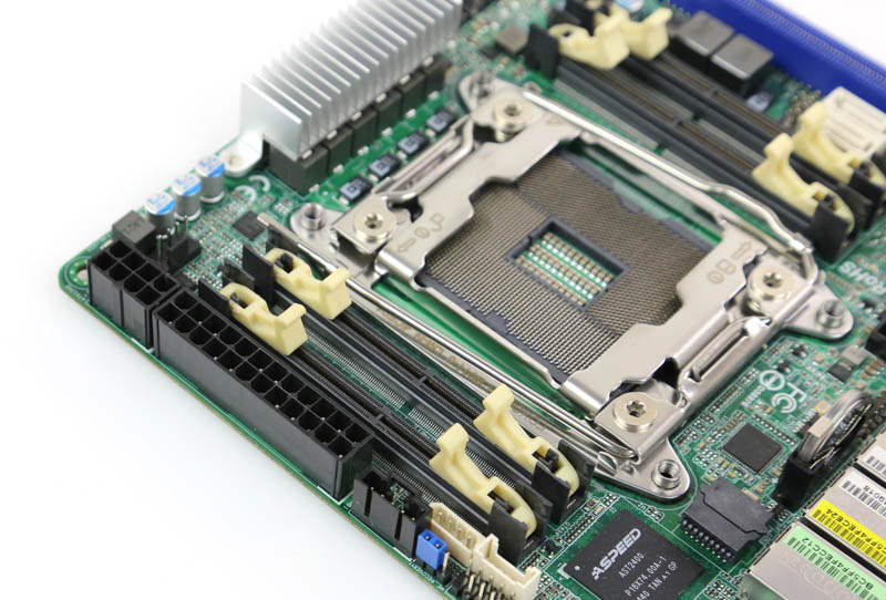 ASRock Rack EPC612D4I - Power and SODIMM