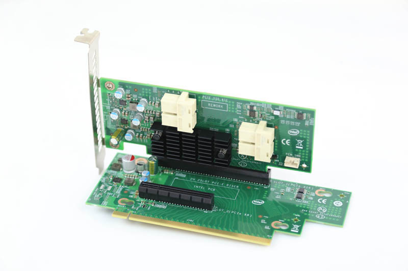Intel R2208WT upgrade 2U riser and PCIe SSD AIC