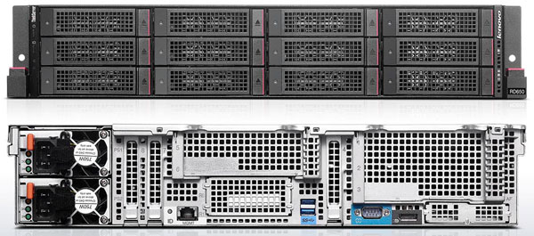 Lenovo ThinkServer RD650 12 x 3.5 Inch Drives