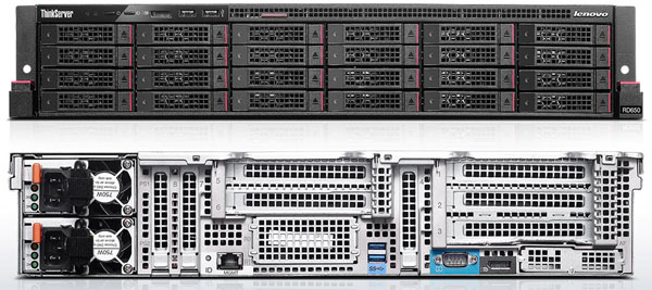 Lenovo ThinkServer RD650 - 24 x 2.5 inch Drives