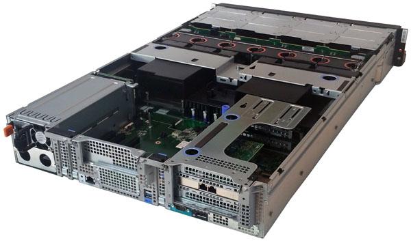 Lenovo ThinkServer RD650 Back