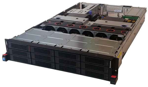 Lenovo ThinkServer RD650 Front