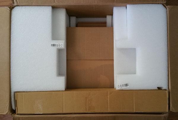 Lenovo ThinkServer RD650 shipping box