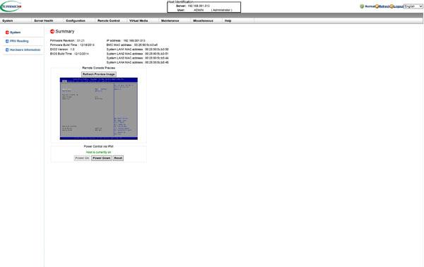Supermicro X10DRL-i - Remote Management