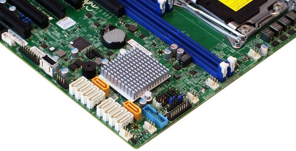Supermicro X10DRL-i - Storage Connections