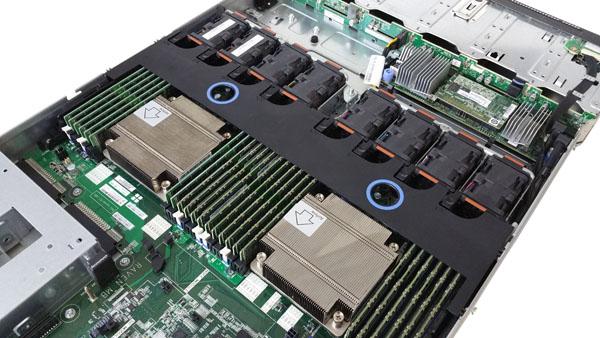 ThinkServer RD550 CPU-RAM Area