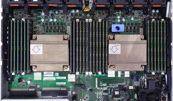 ThinkServer RD550 RAM Layout